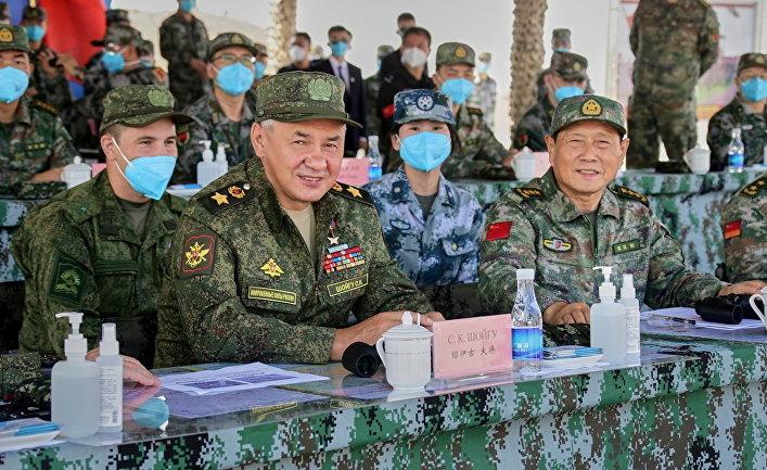 Российско-китайские учения «Запад/Взаимодействие», Китай