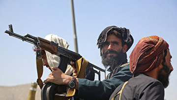 """Боевики """"Талибана""""* в Кабуле, Афганистан"""