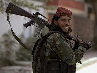 """Боевик """"Талибана""""* в Кабуле, Афганистан"""