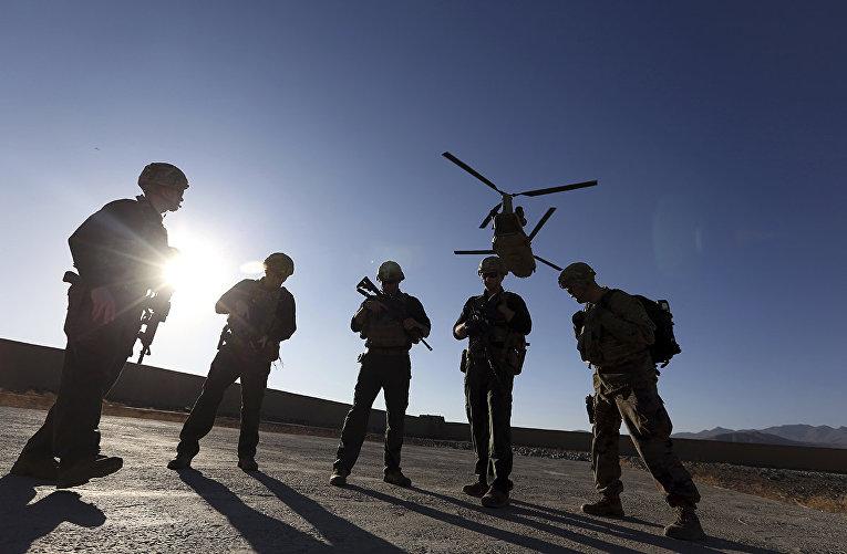 Американские солдаты в Кабуле, Афганистан