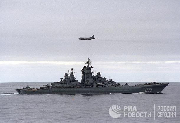 """Тяжелый атомный ракетный крейсер """"Адмирал Нахимов"""""""