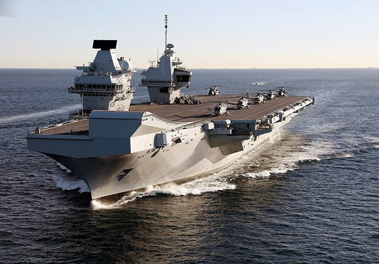 Авианосец «Queen Elisabeth»