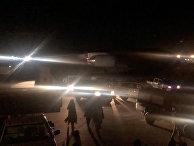 Транспорт в аэропорту Кабула, Афганистан