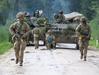 Военные учения в Эстонии
