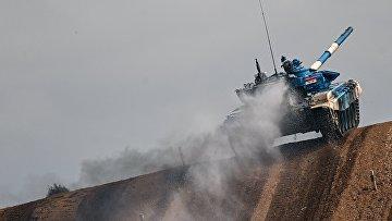 """Форум """"Армия-2021"""". Танковый биатлон"""