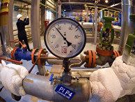 Компрессорная станция на газовом месторождении Бованенково на полуострове Ямал