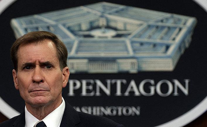 Пресс-секретарь Министерства обороны США Джон Кёрби