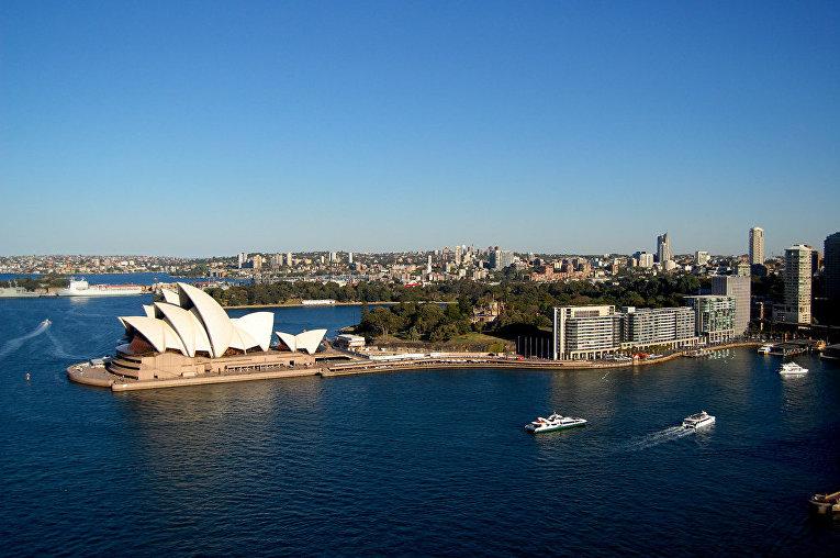 Вид Сиднея