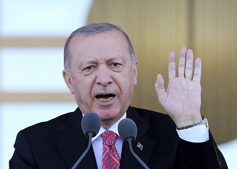 Президент Турции Реджеп Тайип Эрдоган