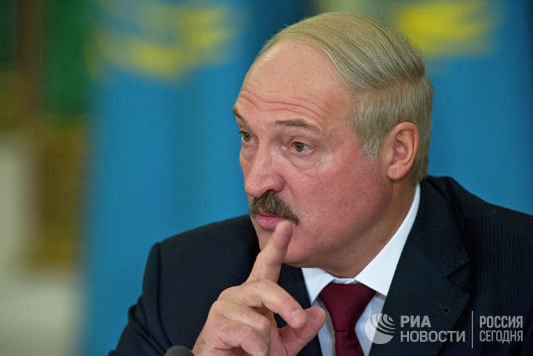 А.Лукашенко на заседании ЕврАзЭС