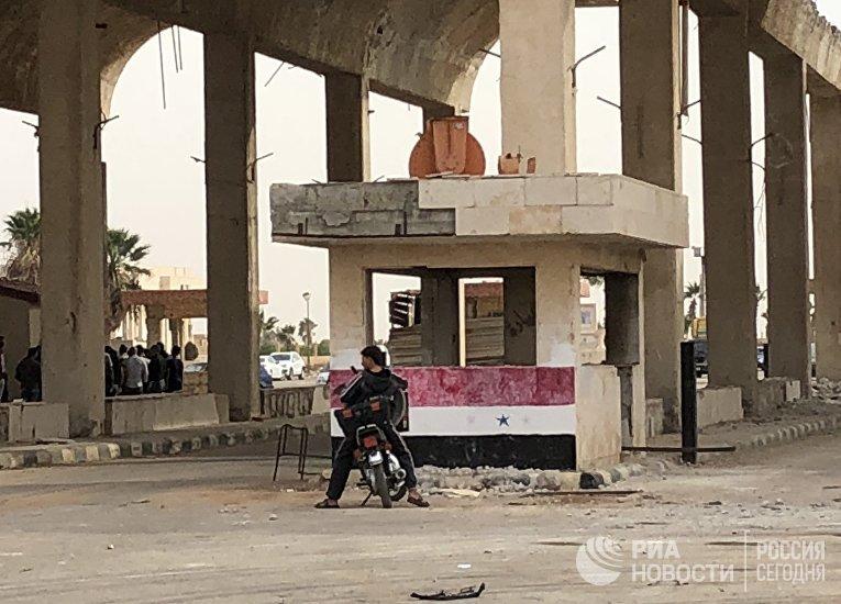 Провинция Деръа в Сирии