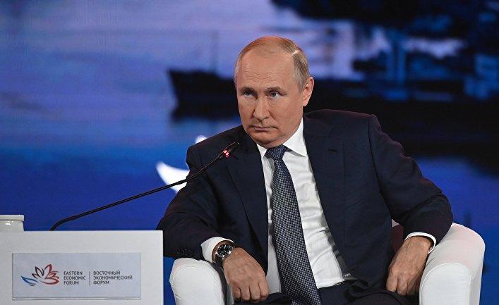 Президент РФ В. Путин принял участие в работе Восточного экономического форума