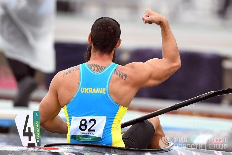 Украинский спортсмен Сергей Емельянов, гребля на байдарках и каноэ