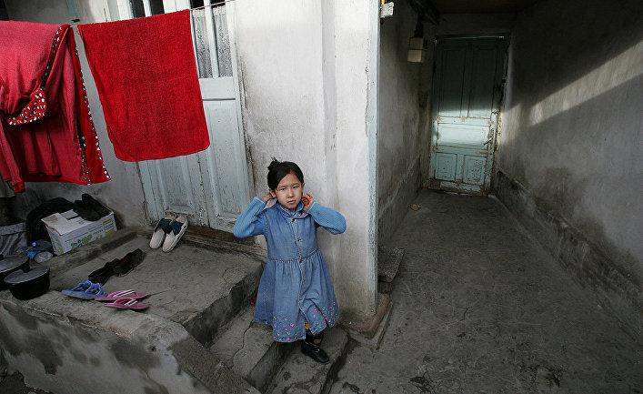 Узбекская девочка в Ташкенте
