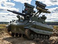 """Ударный роботизированный комплекс (РТК) """"Уран-9"""""""