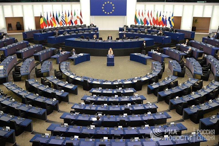 Пленарная сессия Европарламента