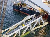 В Балтийском море осуществлена сварка последней трубы «Северного потока ‑ 2»