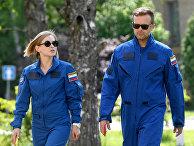 """Съемочную группу фильма """"Вызов"""" начали готовить к полету на МКС"""