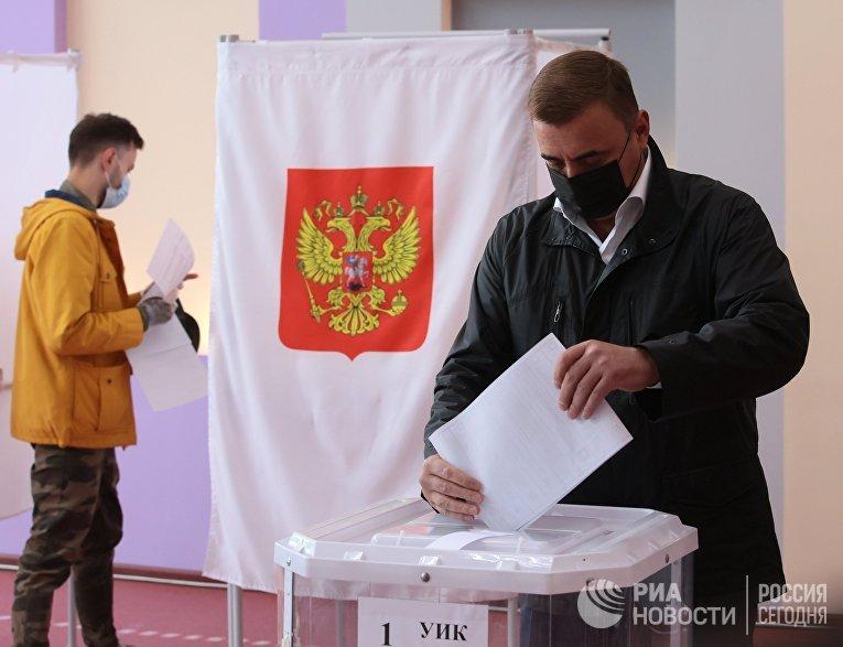 В России стартовали выборы депутатов Госдумы, законодательных органов и глав субъектов федерации