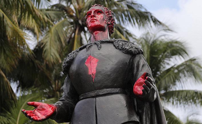 Статуя Христофора Колумба в Майами
