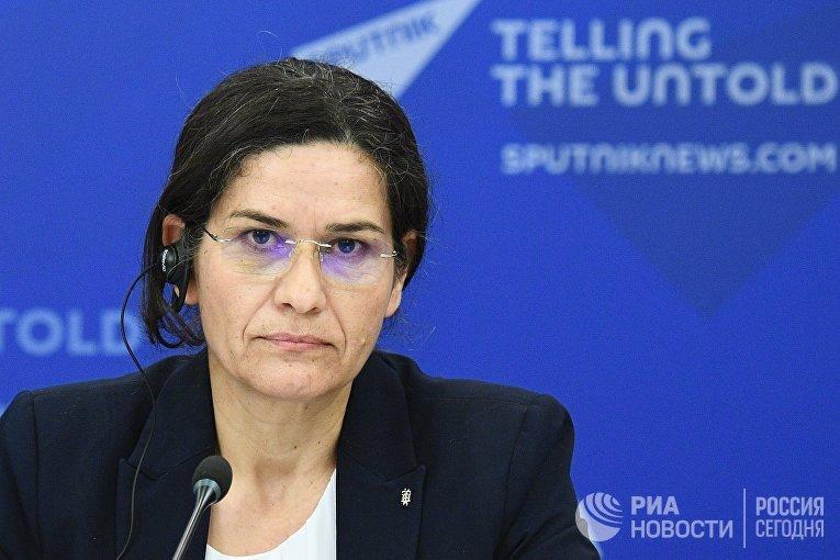 Cопредседатель Совета демократической Сирии Ильхам Ахмед