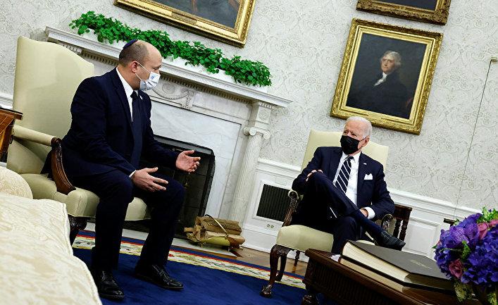 Президент США Джо Байден и премьер-министр Израиля Нафтали Беннетт