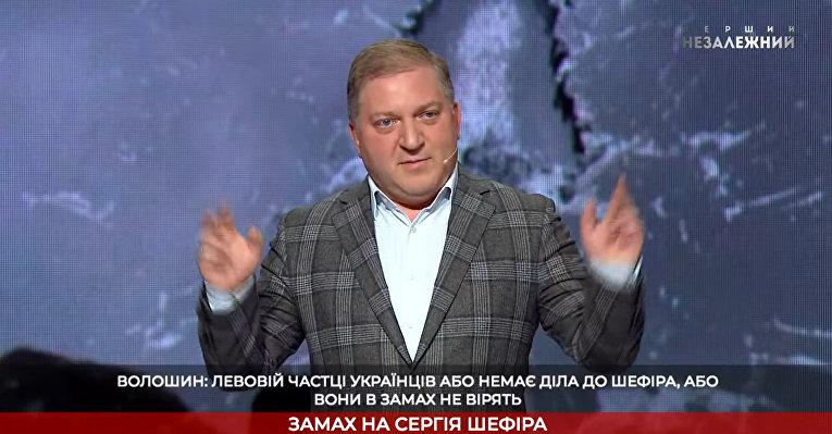 """Олег Волошин в ток-шоу """"Український формат"""""""