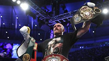 Александр Усик единогласным решением судей победил Джошуа и стал новым чемпионом мира