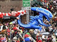 Изображение инопланетянина из «Фейсбук», убегающего от правосудия