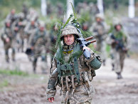Военные учения Rapid Trident-2021 во Львовской области, Украина
