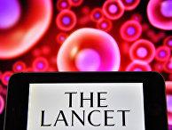 Логотип британского медицинского журнала The Lancet