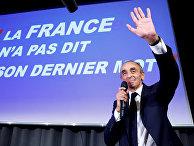 Французский журналист Эрик Земмур выступает в Ницце