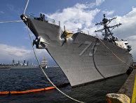 "Корабль ВМС США ""Дональд Кук"""
