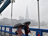 Дождливая погода в Лондоне