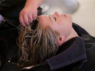 Посетитель парикмахерской