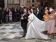 Венчание наследника династии Романовых в Санкт-Петербурге