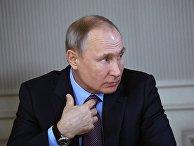 Рабочая поездка президента РФ В. Путина в Ивановскую область
