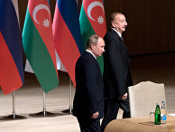 Рабочий визит президента РФ В. Путина в Азербайджан