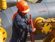 Сотрудник подземного хранилища газа Бильче-Волицко-Угерское во Львовской области