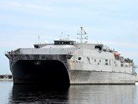 Американский десантный корабль USNS Choctaw County