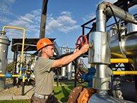 Комплекс подготовки экспортного газа на Украине