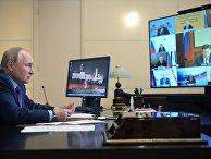 Президент РФ В. Путин провел совещание по вопросам развития энергетики