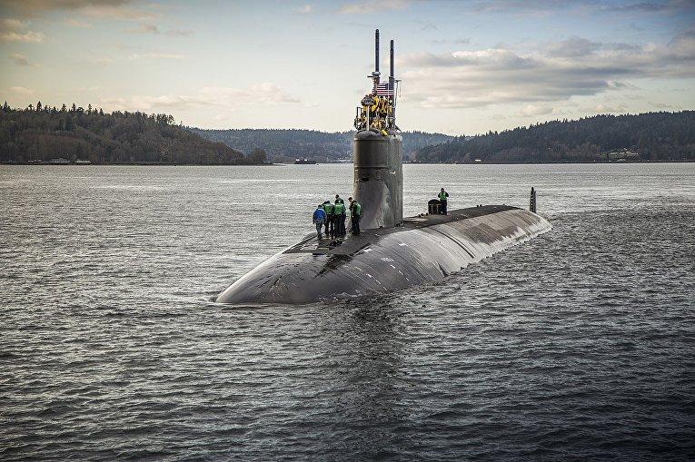 Атомная подводная лодка USS Connecticut