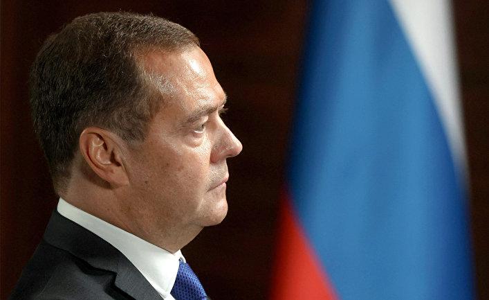Зампред Совбеза РФ Д. Медведев дал интервью телеканалу RT