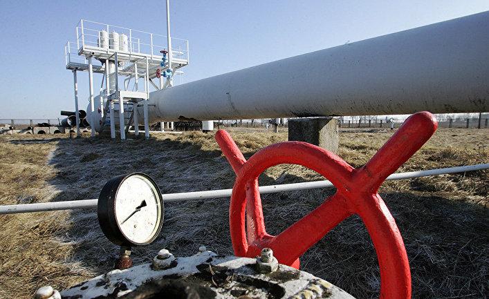 Газопровод в окрестностях города Боярка, Украина