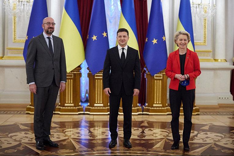 Саммит Украина-ЕС в Киеве