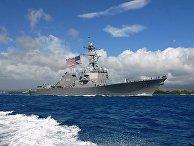 Американский эсминец Chafee