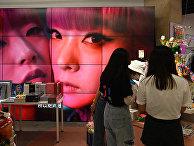Работа магазина подарков в Пекине, Китай