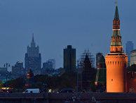 Московский Кремль и Большой Москворецкий мост