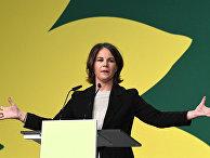 Анналена Бербок («Зеленые») выступает в Берлине